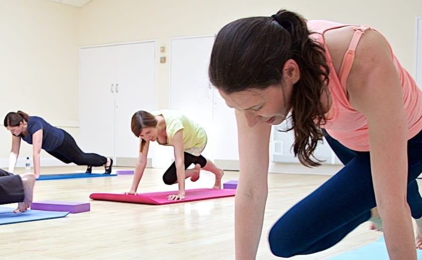 Are you too competitive in the Pilates class room?